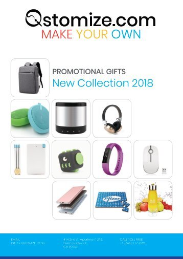 Qstomize 2018 Top Products Catalog