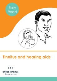 Tinnitus and hearing aids FINAL for Web