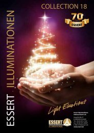 ESSERT ILLUMINATIONEN Collection 18