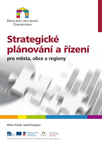Strategické plánování a řízení pro města, obce a regiony (2012)