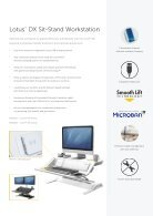 Fellowes - Sit/Stand Range Brochure EU - Page 5