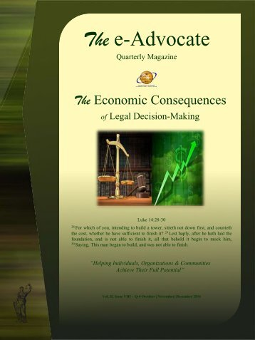 The Economic Consequences of Legal Decision-Making