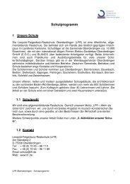 Schulprogramm - Leopold Feigenbutz Realschule