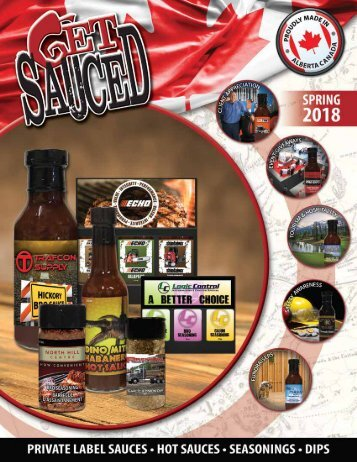 Get Sauced Catalog 2018