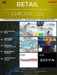 Retail Chronicles 11th Edition