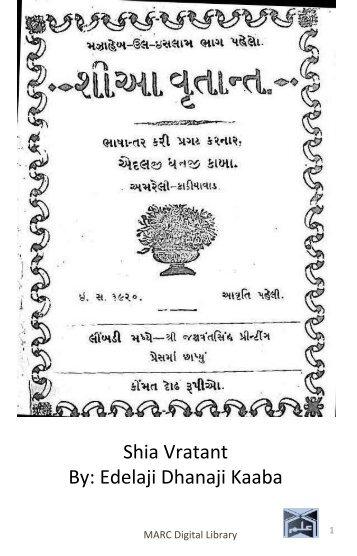 Book 27 Shia Vratant
