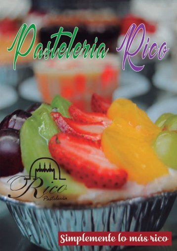 Catalogo Pasteleria Rico