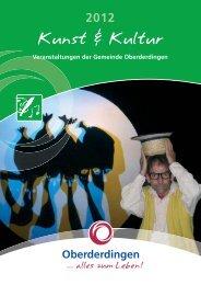 Kunst & Kultur 2012 - Oberderdingen