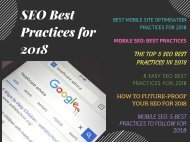 Mobile SEO: Best Practices