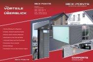 carports - bick·points