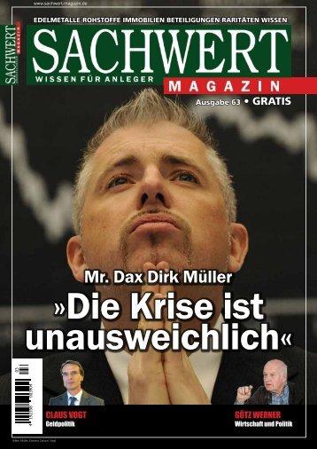 Sachwert Magazin Ausgabe 63, Januar 2018