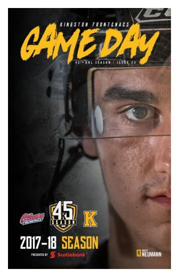 Kingston Frontenacs GameDay February 2, 2018