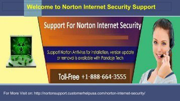 Norton Inernet Security Support Number +1-888-664-3555