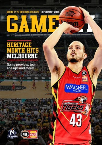 Game day program - Round 17