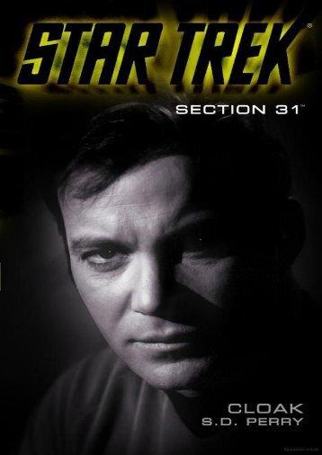 Star Trek_ Section 31 - 1 - Cloak - S. D. Perry