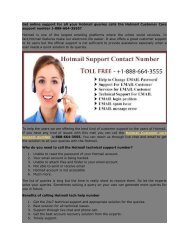 Hotmail_Customer_care_supprot_number 1-866-730-4085