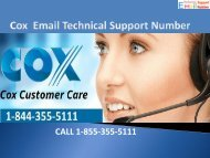 1-844-355-5111 Cox Email Support Phone Number