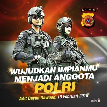 Sosialisasi Penerimaan Calon Anggota POLRI - Aceh