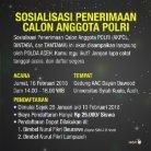 Sosialisasi Penerimaan Calon Anggota POLRI - Aceh - Page 2