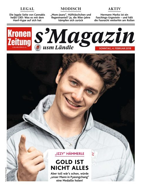 s'Magazin usm Ländle, 4. Februar 2018