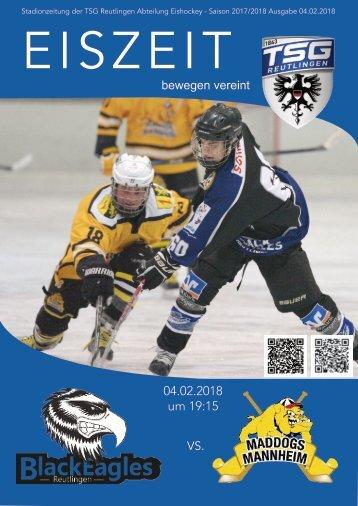 TSG Black Eagles vs Maddogs Mannheim 04_02_2018