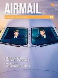 Airmail # 16 - Die Zeitschrift des Airport Weeze