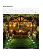 Covered Patio Lighting Ideas You'll Fall In Love - Page 4