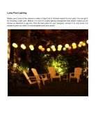 Covered Patio Lighting Ideas You'll Fall In Love - Page 6