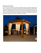 Covered Patio Lighting Ideas You'll Fall In Love - Page 7