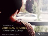 Criminal Injury Lawyer in Perth – How to Claim a Criminal Injury