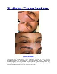 Microblading – What You Should Know