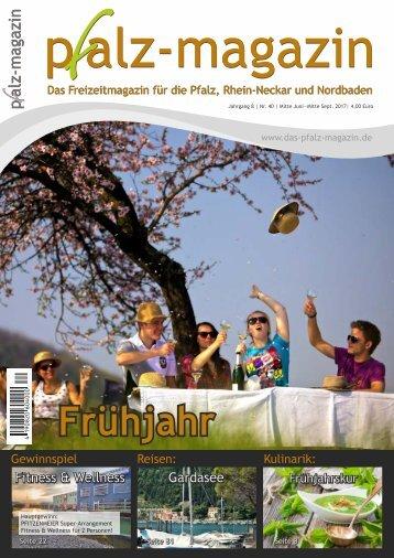 Pfalz-Magazin Frühjahr 2018