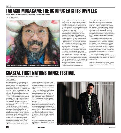 BeatRoute Magazine BC Print Edition February 2018