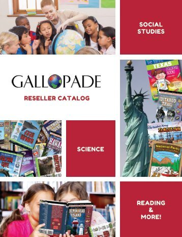 Gallopade 2018 Reseller Catalog
