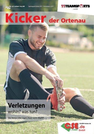 Kicker der Ortenau Sommer 2017/2018