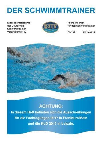 Der Schwimmtrainer Nr.108