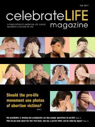Celebrate Life Magazine - Fall 2017