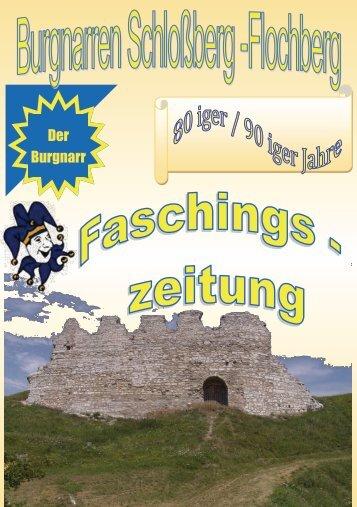 Narrenheft der Burgnarren Schloßberg_Flochberg