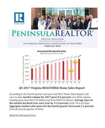Peninsula REALTOR® February 2018