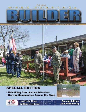 West Virginia Builder - Special Edition