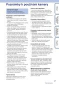 Sony HDR-AS30VD - HDR-AS30VD Guide pratique Tchèque - Page 3