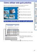 Sony HDR-AS30VD - HDR-AS30VD Guide pratique Espagnol - Page 2