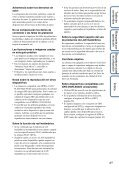 Sony HDR-AS30VD - HDR-AS30VD Guide pratique Espagnol - Page 4