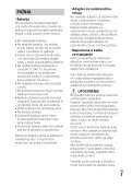 Sony HDR-CX900E - HDR-CX900E Consignes d'utilisation Serbe - Page 7