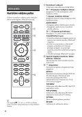 Sony UHP-H1 - UHP-H1 Consignes d'utilisation Lituanien - Page 6