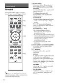 Sony UHP-H1 - UHP-H1 Consignes d'utilisation Hongrois - Page 6