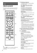Sony UHP-H1 - UHP-H1 Consignes d'utilisation Slovénien - Page 6