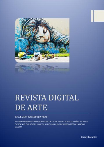 REVISTA DIGITAL DE ARTE
