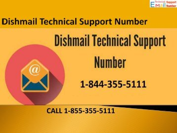 1-844-355-5111 Dishmail Technical Support Number