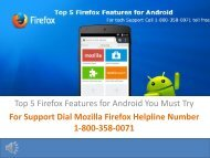 Top Features of Firefox for Android